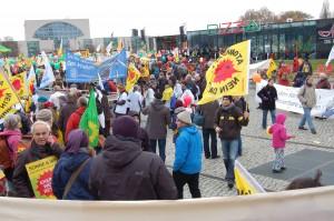 Demonstration für die Energiewende am 30. November 2013 in Berlin