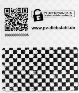 Das Etikett besteht aus zwei Schichten, von denen die untere nur schwer zu entfernen ist. Foto: SecondSol GmbH