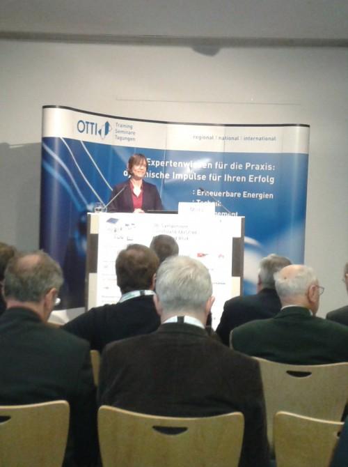 Sorgte für Frust: Ministerialdirigentin Dorothee Mühl vertrat zum PV-Symposium die Position der Regierung. Foto: Rutschmann
